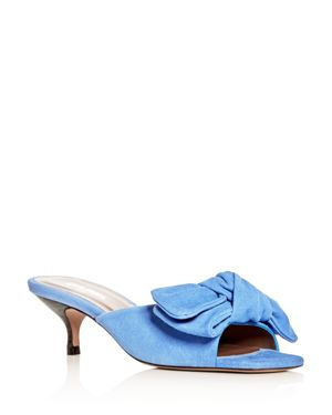 WOMEN'S SIRUS SUEDE SLIDE SANDALS
