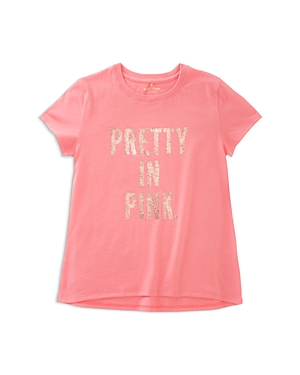 kate spade new york Girls' Pretty in Pink Tee - Big Kid