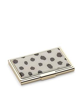 kate spade new york - Flamingo Dot Boudoir Chic Card Case