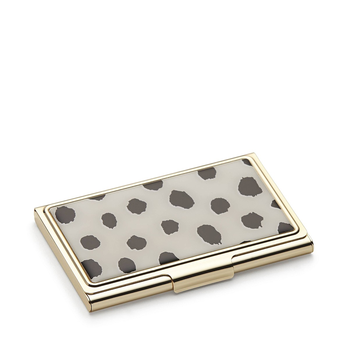 kate spade new york Flamingo Dot Boudoir Chic Card Case | Bloomingdale\'s