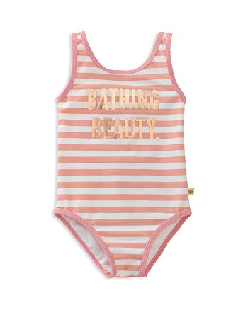 kate spade new york - Girls' Striped Bathing Beauty Swimsuit - Baby