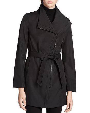 Calvin Klein - Tie Waist Trench Coat
