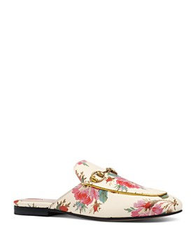 Gucci - Women's Princetown Floral Mules