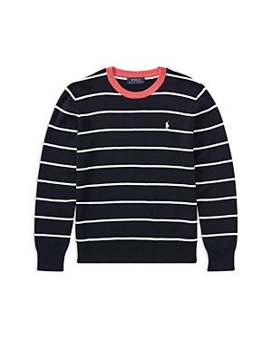 Ralph Lauren Childrenswear Boys' Striped Sweater - Big Kid