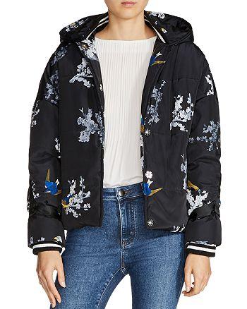 Maje - Guela Printed Puffer Jacket