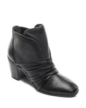 BERNARDO Women'S Leather Strappy Booties in Black