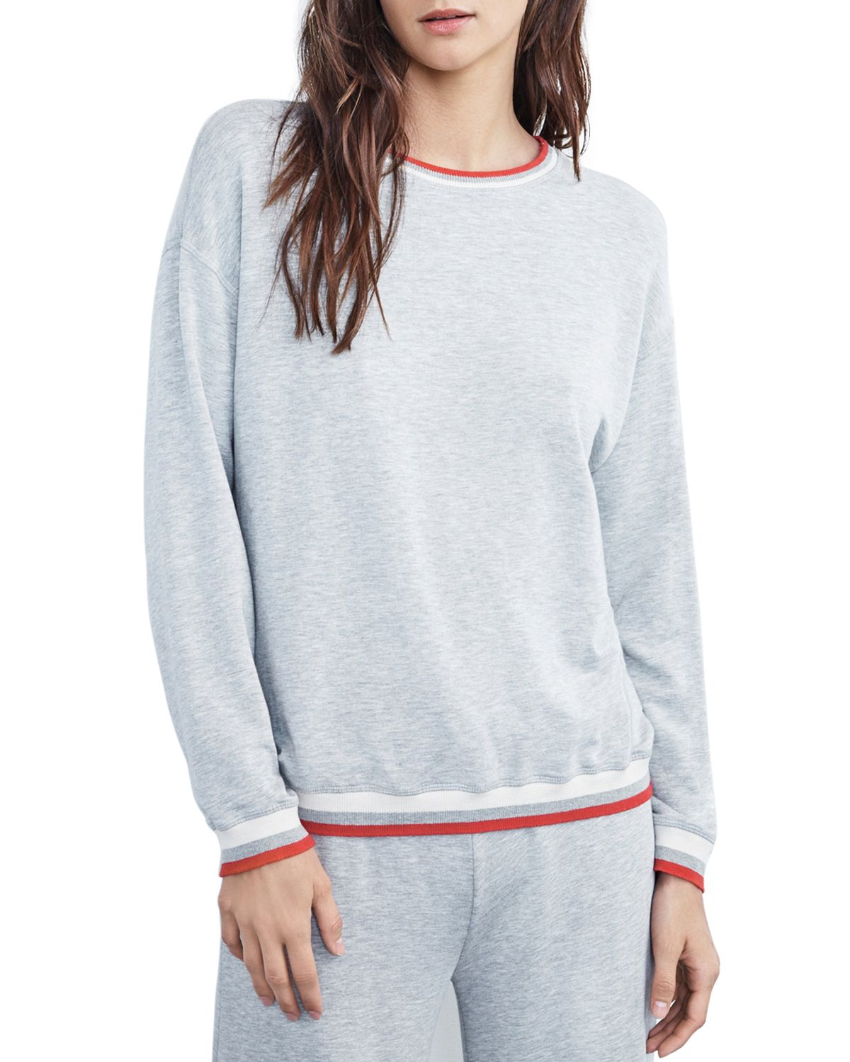 Beatrice Sweatshirt by Velvet By Graham & Spencer
