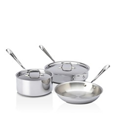 All-Clad Stainless Steel 5-Piece Cookware Set - Bloomingdale's_0
