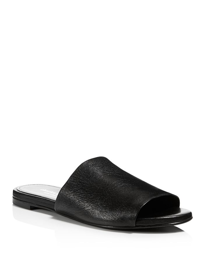 Charles David - Women's Soleil Leather Slide Sandals