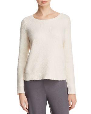 Eileen Fisher Boat Neck Sweater