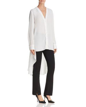 Donna Karan New York High/Low Shirt