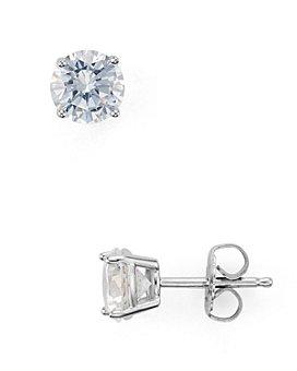 AQUA - Sterling Silver Stud Earrings - 100% Exclusive