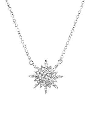 Sterling Silver Star Pendant Necklace 16