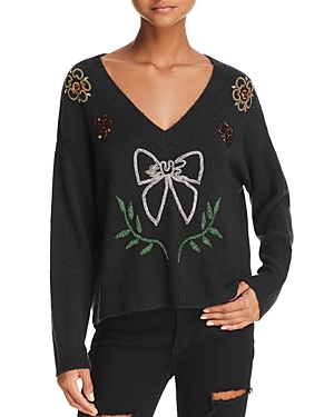 Wildfox Clemente Embellished Sweater