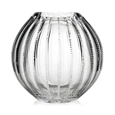 "William Yeoward Crystal - Crystal ""Inez"" Spherical Vase, 9"""
