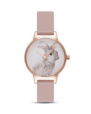 Olivia Burton Vegan-Friendly Bunny Watch, 30mm