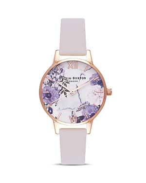 Olivia Burton Marble Florals Watch, 30mm