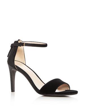 Cole Haan Women's Clara Velvet Ankle Strap Sandals 2793810