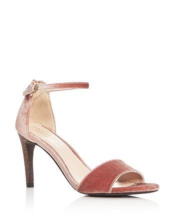 Cole Haan - Women's Clara Velvet Ankle Strap Sandals