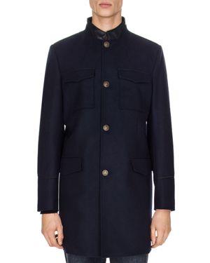 The Kooples Erin Twill Coat
