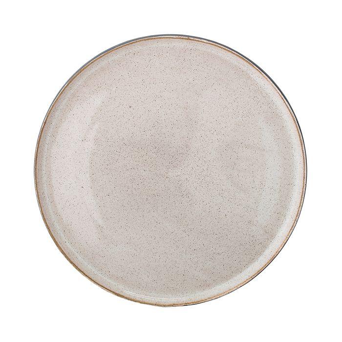 Bloomingville - Round Decorative Stoneware Serving Tray