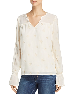 Michael Stars Embroidered Star Top