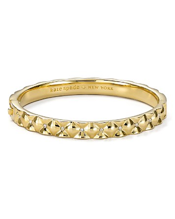 $kate spade new york Quilted Bangle - Bloomingdale's