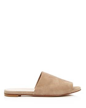Charles David - Women's Suede Slide Sandals