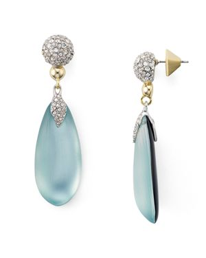 Alexis Bittar Pave Lucite Post Earrings
