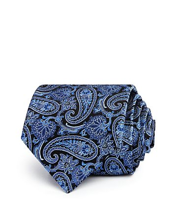 The Men's Store at Bloomingdale's - Large Paisley Pines Classic Tie - 100% Exclusive