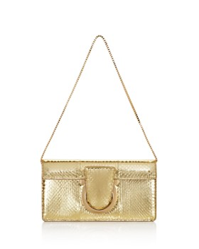 Salvatore Ferragamo - Thalia Small Snakeskin Shoulder Bag