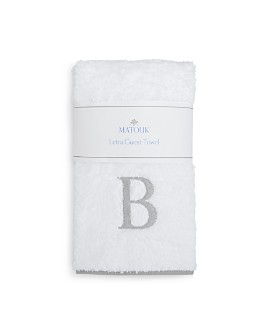 Matouk - Letra Monogram Guest Towel - 100% Exclusive