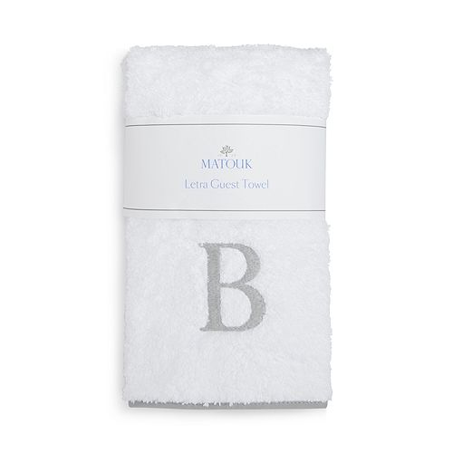 Matouk - Letra Monogram Guest Towel - 100% Exclusive