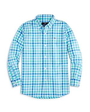 Vineyard Vines Boys' Plaid Button-Down Shirt - Little Kid