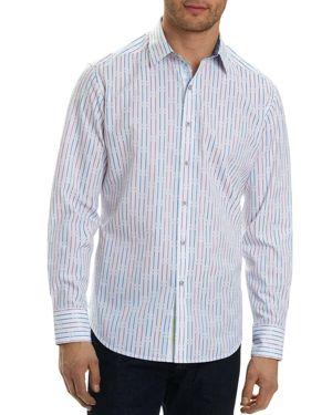 Robert Graham Bora Stripe Long Sleeve Button-Down Shirt