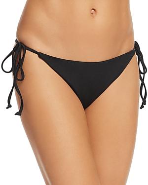 Shoshanna Shiny String Bikini Bottom