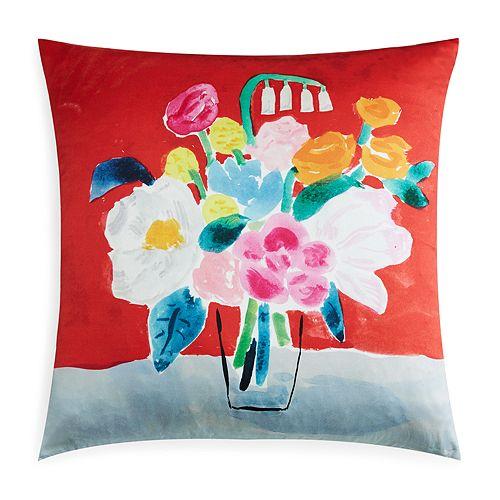 Kate Spade New York Bouquet Decorative Pillow 40 X 40 Custom Kate Spade Decorative Pillows