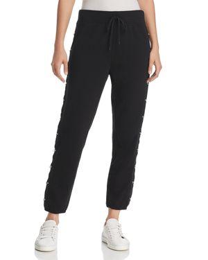 Juicy Couture Black Label Track Hardware-Detail Sweatpants