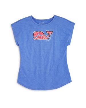 Vineyard Vines Girls' Whale Tail Tee - Little Kid
