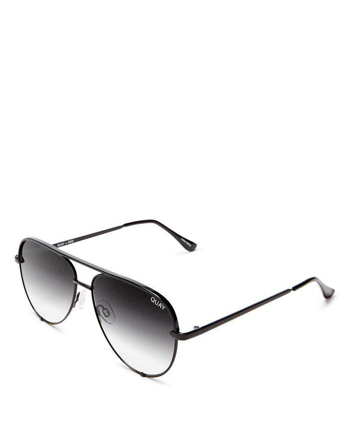 Women's High Key Mini Aviator Sunglasses, 53mm