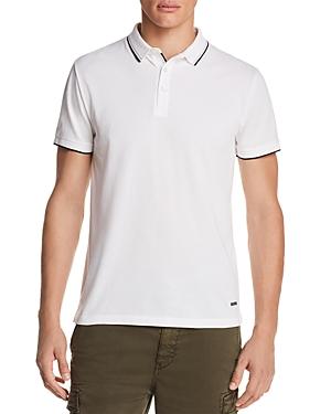 Boss Orange Payout Tipped Short Sleeve Polo Shirt