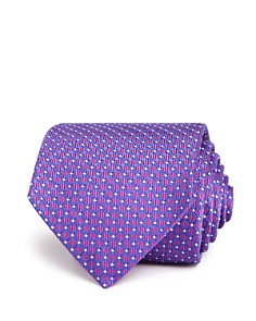 Turnbull & Asser Diamond Geometric Neat Woven Classic Tie - Bloomingdale's_0