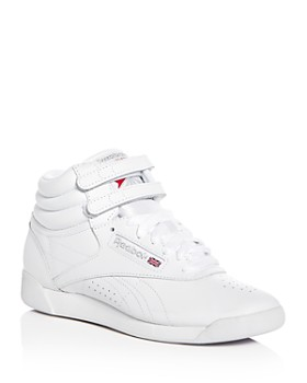 ab856bc8d6cd7c Reebok - Women s Freestyle Leather High Top Sneakers ...