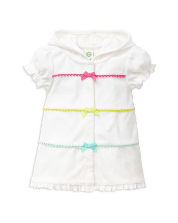 Little Me - Girls' French Terry Swim Cover-Up - Baby