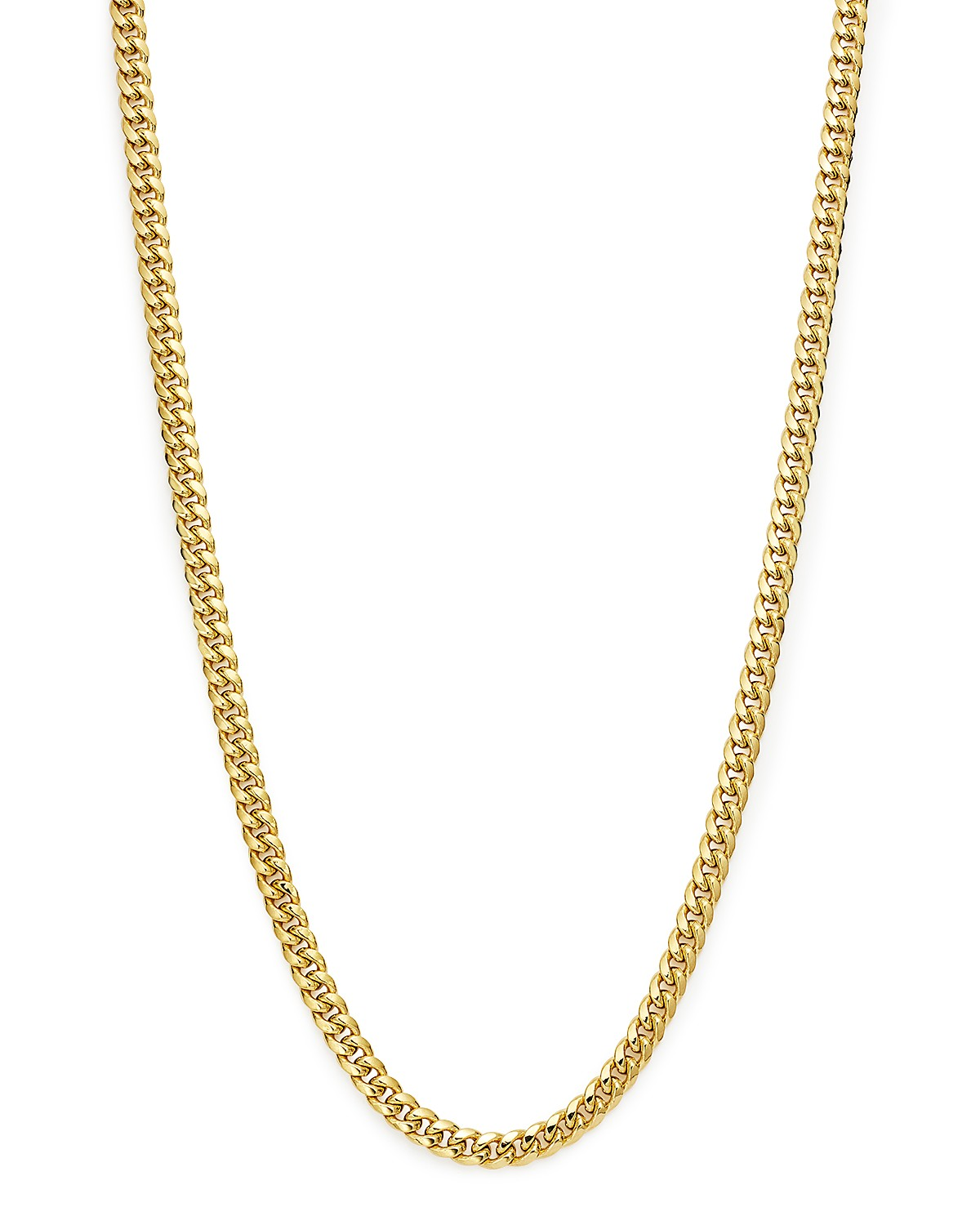 necklaces necklace male curb chain gold nipped en model female rada