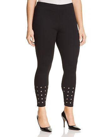 Lyssé Plus - Grommet Hem Leggings