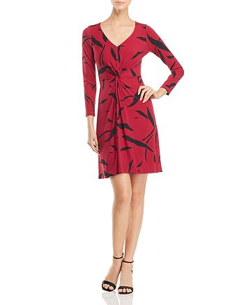 Leota - Charlotte Twist-Front Dress