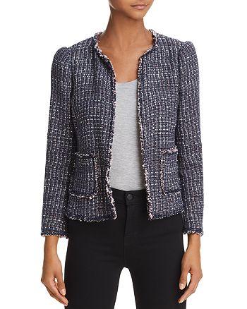 Rebecca Taylor - Fray-Edged Tweed Jacket