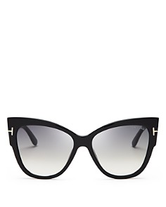 Tom Ford - Women's Anoushka Cat Eye Sunglasses, 57mm