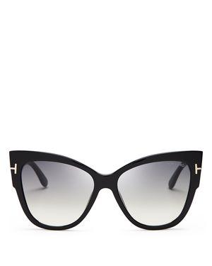 Tom Ford Anoushka Cat Eye Sunglasses, 57mm